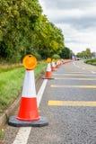 BRITISCHES Autobahn-Service-Verkehrsschild Lizenzfreies Stockfoto