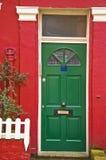 Britisches doorhouse Lizenzfreie Stockfotografie