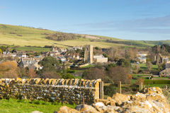 BRITISCHES englisches Bauerndorf Abbotsbury Dorset England Stockfotografie