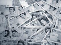 BRITISCHES Geld Lizenzfreies Stockfoto