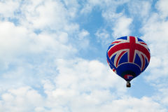 Britisches Markierungsfahne baloon Stockfotografie