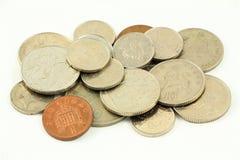 Britisches Pfund Sterling Coins 2 Stockbild