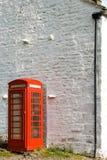 Britisches phonebox lizenzfreie stockfotos