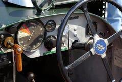 Britisches Riley-laufendes Auto von den dreißiger Jahren Lizenzfreies Stockbild