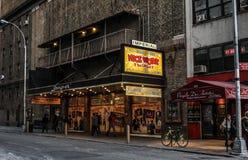 Britisches Theater, Manhattan, NYC lizenzfreie stockfotos