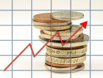 BRITISCHES Wachstum Stockfoto