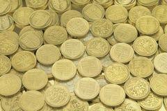 british чеканят один фунт Стоковое Фото