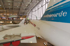 British Aircraft Corporation, Concorde, G-AXDN Royalty Free Stock Photo