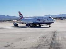 British Airways Fotografie Stock Libere da Diritti