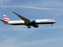 British Airways royalty free stock photos