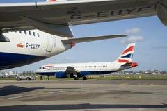 British Airways A320s stock fotografie