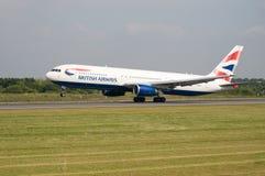British Airways Aeroplane Royalty Free Stock Photo
