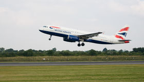 British Airways Aeroplane Royalty Free Stock Image
