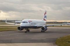British Airways Airbus A320 imagens de stock royalty free