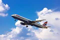 British Airways Airbus A321-231 Lizenzfreies Stockbild