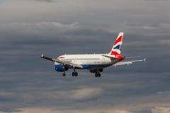 British Airways - Airbus A320 Photographie stock