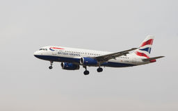 British Airways Airbus A320 Royalty Free Stock Photo