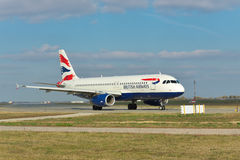 British Airways Airbus A320 Stock Photography