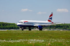 British Airways Airbus A320 Stock Photos