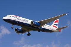 British Airways Airbus A320. Stock Photo