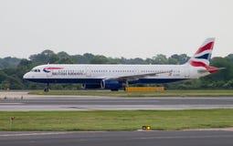 British Airways Airbus A320 Stock Images
