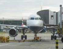 British Airways aircraft Stock Photo