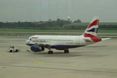British Airways aircraft Royalty Free Stock Images