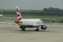 British Airways aircraft Royalty Free Stock Photo