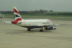 British Airways aircraft Royalty Free Stock Image