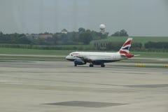 British Airways aircraft Royalty Free Stock Photos