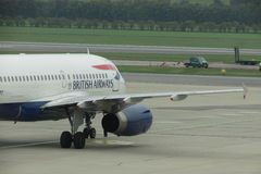 British Airways aircraft Stock Photos