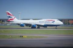 British Airways Boeing Fotografering för Bildbyråer