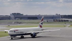 British Airways Boeing 767 arkivfilmer