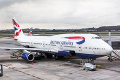British Airways Boeing 747 Photo stock