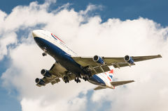 British Airways Boeing 747 Stock Afbeeldingen