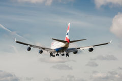 British Airways Boeing 747 Royalty Free Stock Image