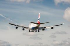 British Airways Boeing 747 Immagine Stock Libera da Diritti