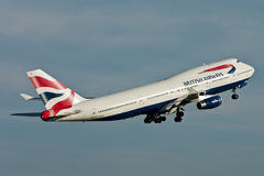 British Airways Boeing 747 Jumbo Jet Stock Photos