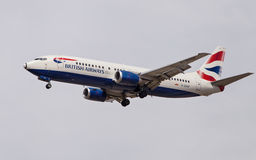 British Airways Boeing 737 Royalty Free Stock Images