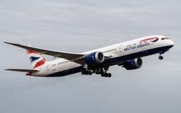 British Airways Boeing 787 Dreamliner στοκ φωτογραφία