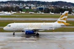 British Airways A319-131-G-EUOH/goldene Taube/London-Olympics 2012 Stockbilder