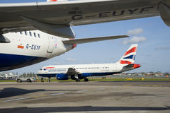 British Airways Heathrow Airport Stock Photography