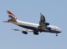 British Airways large passenger jet Stock Images