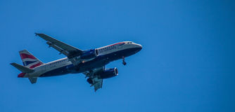 British Airways Plane Royalty Free Stock Photography
