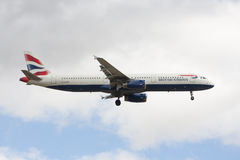 BRITISH AIRWAYS's plane Stock Images