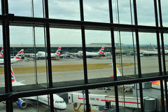 British Airways Terminal 5 Stock Photo