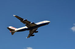 British Airways un vuelo del mundo Fotos de archivo libres de regalías