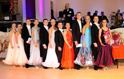 British Amateur Modern Sequence Dance Championship Stock Image