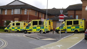 British Ambulances Royalty Free Stock Photography