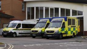 British Ambulances Stock Images
